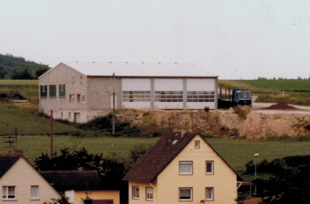 Halle Obertiefenbach Neubau